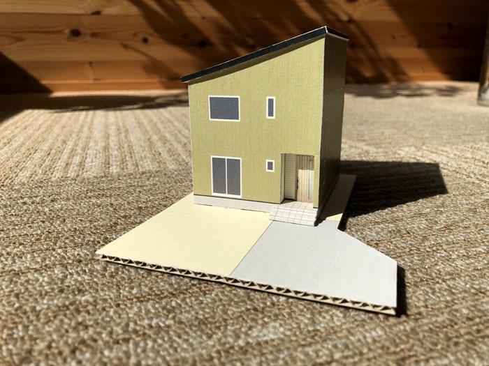 WOODBOX STANDARD 新潟市中央区 S様邸 模型
