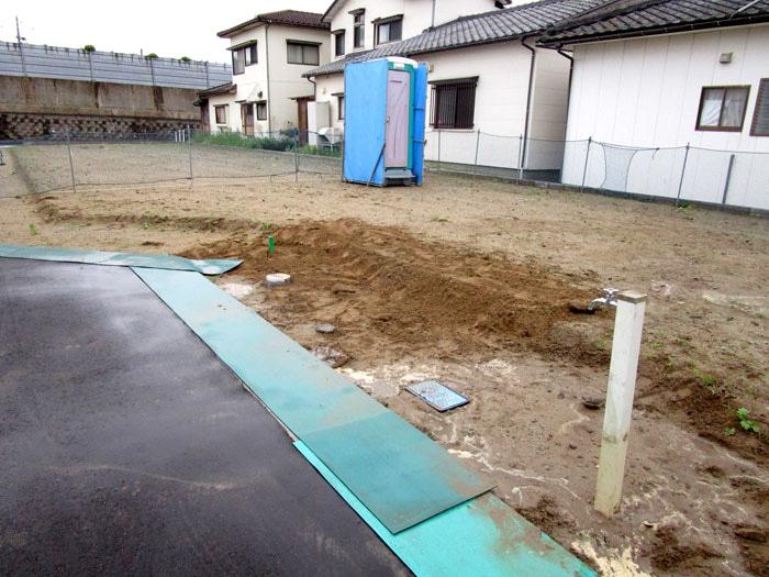 WOODBOX STANDARD 新潟市中央区 S様邸 事前準備