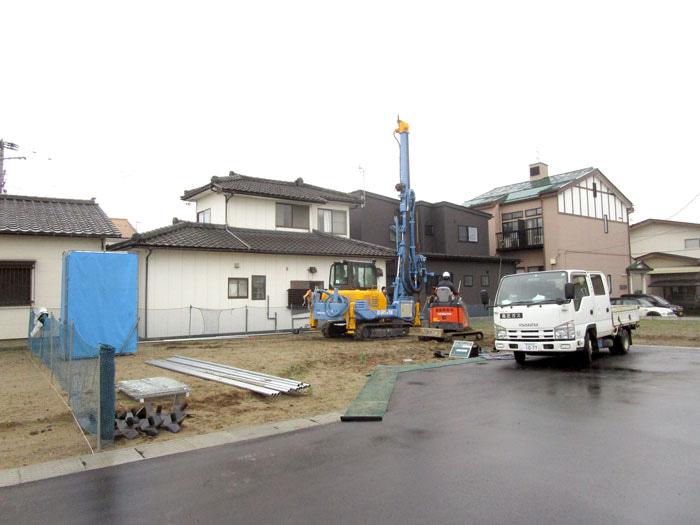 WOODBOX STANDARD 新潟市中央区 S様邸 地盤改良工事
