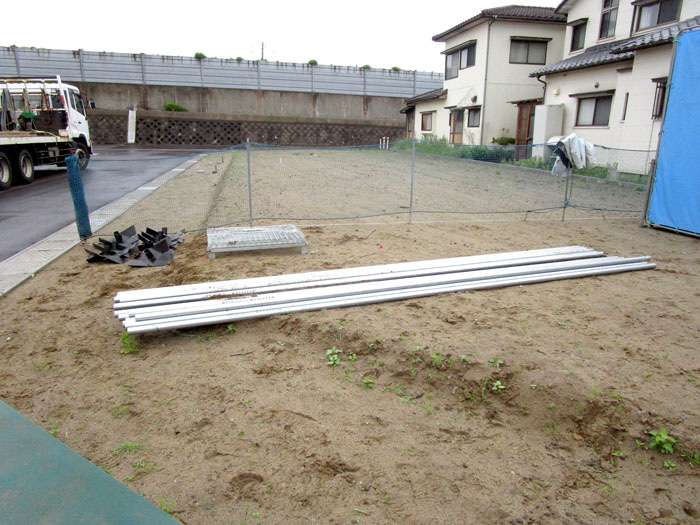 WOODBOX STANDARD 新潟市中央区 S様邸 長い鋼管